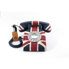 GPO 1950SUnionJack Retro druktoets telefoon