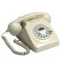 GPO 746 Draaischijf Retro Telefoon Ivoor