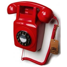 GPO 746 Retro Wandtelefoon Rood