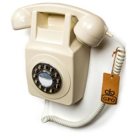 GPO 746 Retro Wandtelefoon Ivoor