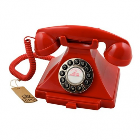 GPO Carrington Retro Telefoon Rood