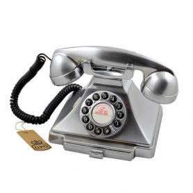 GPO Carrington Retro Telefoon Chrome