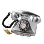 GPO Carrington Retro Telefoon Chrome
