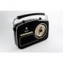 Retro Radio GPO Rydell zwart
