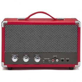 GPO Westwood Retro Bluetooth Speaker Rood