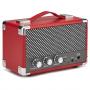 GPO Westwood Retro Bluetooth Speaker Mini Rood