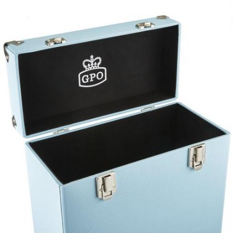 GPO Platenkoffer Blauw