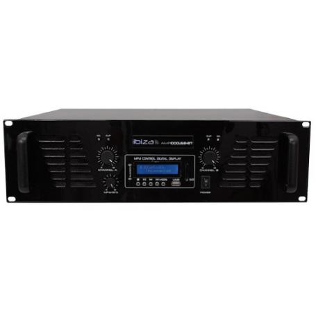 Ibiza Sound AMP1000USB-BT