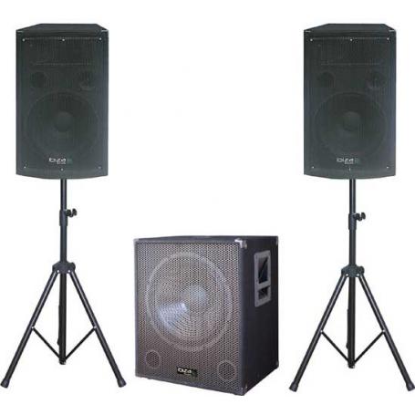 Ibiza Sound CUBE1512