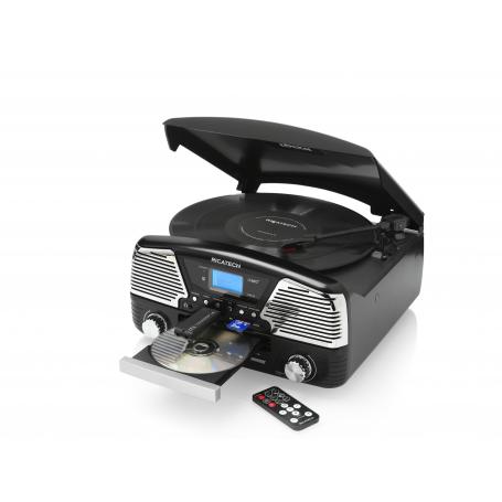Ricatech RMC90 Ibiza All-in-1 Retro platenspeler