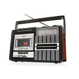 Ricatech PR85 Recorder 80's Radio Cassette USB/SD