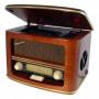 Roadstar Hra1500mp Vintage Houten Hifi System