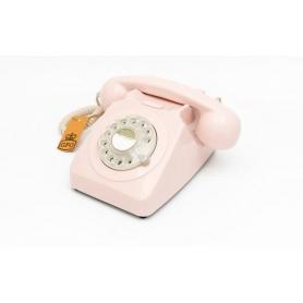 GPO 746 Draaischijf Retro Telefoon Pinnk