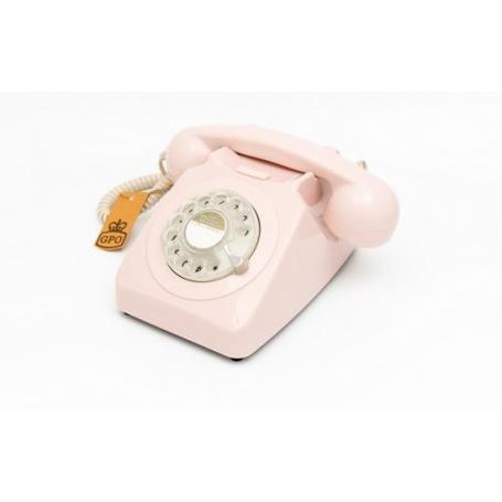 GPO 746 Draaischijf Retro Telefoon Brons