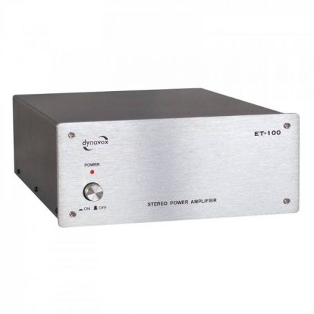 Audio Dynavox Dynavox versterker ET100 zilver