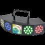 3-IN-1 LED LICHT EFFECT WASH - MOON - STROBE WITH DMX