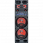 2x10'' HIGHPOWER SPEAKER WITH LEDS, USB, BT