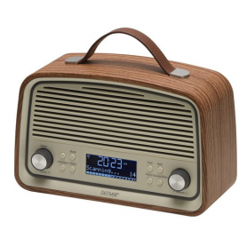 Denver DAB-38 Darkwood, DAB+/FM radio