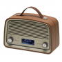 Denver DAB-38 Darkwood, DAB+ en FM radio