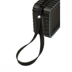 Bluetooth-Speaker 2.0 Explorer 3 W Ingebouwde Microfoon Zwart/Blauw | AVSP5000-07