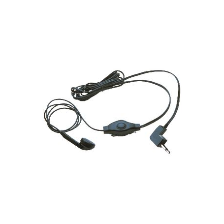 Headset In-Ear 2.5 mm 2.5 mm Ingebouwde Microfoon 1.42 m Zwart   COBRA-EBM