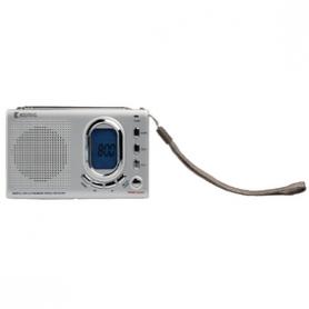 Draagbare Wereld Radio FM / AM / SW Grijs | HAV-PR23