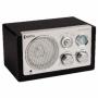 Tafelradio Retro FM / AM 3 W Zwart   HAV-TR1100