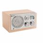 Tafelradio Retro FM / AM 3 W Beige   HAV-TR1300