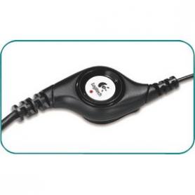 Headset ANC (Active Noise Cancelling) On-Ear USB Bedraad Ingebouwde Microfoon 2.4 m Zwart   LGT-H390