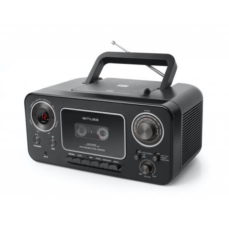 Muse M-182 RDC Draagbare Radio/CD/Cassette speler
