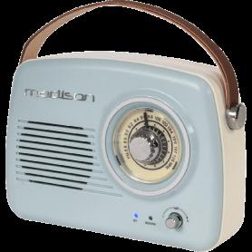 DRAAGBAAR NOSTALGIE RADIO MET BLUETOOTH & FM 30W Outlet