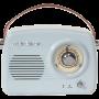 DRAAGBAAR NOSTALGIE RADIO MET BLUETOOTH & FM 30W