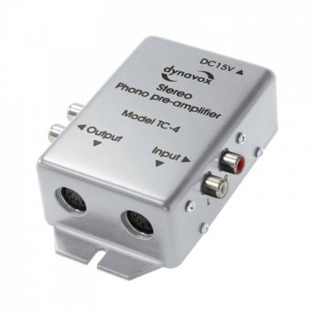 Audio Dynavox Dynavox phono voorversterker TC4 zilver