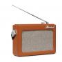 Ricatech PR78 Emmeline Vintage Draagbare Radio Bruin