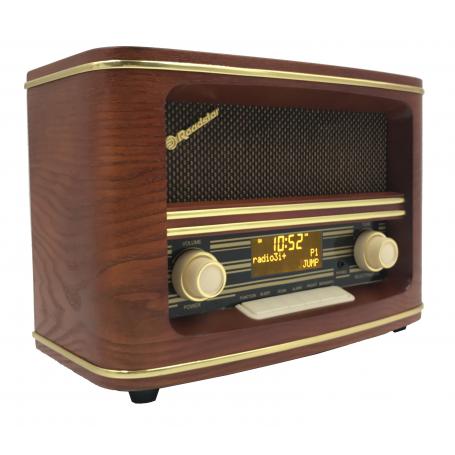 Roadstar HRA-1500 DAB+ Vintage Houten Radio