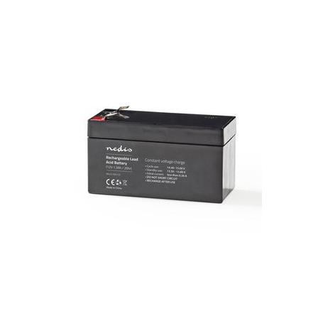 Oplaadbare Loodzuuraccu 12V | 1300 mAh | 97 x 43 x 52 mm |  BALA130012V