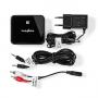 Audio-Ontvanger Advanced Bluetooth SPDIF Zwart   CSBTRCVR110