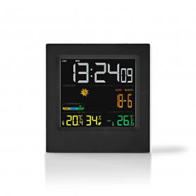 Nedis Weerstation | Draadloze sensor | Alarmklok | Weersvoorspelling