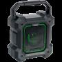 Ibiza Sound PARTY - 7,5 cm, draagbare Bluetooth speaker met licht effecten