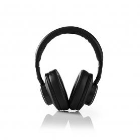 Nedis HPBT5260BK Draadloze Hoofdtelefoon Bluetooth® Over-ear Actieve Ruisonderdrukking (anc) Zwart