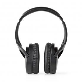 Nedis Draadloze hoofdtelefoon   Bluetooth®   Over-ear   Actieve ruisonderdrukking (ANC)   Zwart