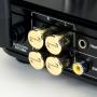 Audio Dynavox - cinch beschermers 4 delig verguld