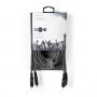 Nedis Stereo audiokabel | 2x RCA male - 2x RCA male | 3,0 m | Grijs