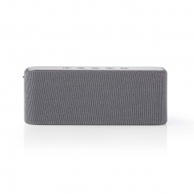 Nedis Luidspreker met Bluetooth®   2x 30 W   True Wireless Stereo (TWS)   Waterbestendig   Grijs