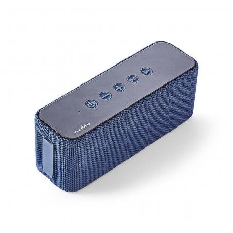Nedis Luidspreker met Bluetooth® | 2x 30 W | True Wireless Stereo (TWS) | Waterbestendig | Blauw