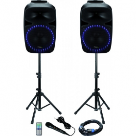 Ibiza Sound geluidset met USB/SD player + BT