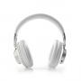 Nedis Draadloze Hoofdtelefoon HPBT5260WT | Bluetooth® Over-ear Actieve Ruisonderdrukking (anc) Wit