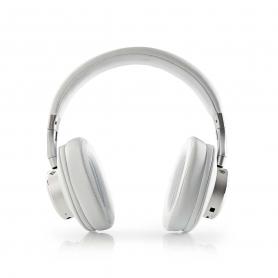 Nedis Draadloze Hoofdtelefoon HPBT5260WT   Bluetooth® Over-ear Actieve Ruisonderdrukking (anc) Wit