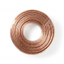 Speaker-Kabel | 2 x 2,50 mm2 | 25 m op rol | Transparant