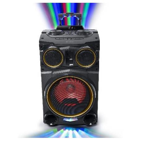 Muse MB-1936DJ Bluetooth speaker met disco verlichting 400 Watt
